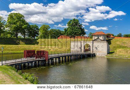 Entrance To Kastellet, A Fortress In Copenhagen