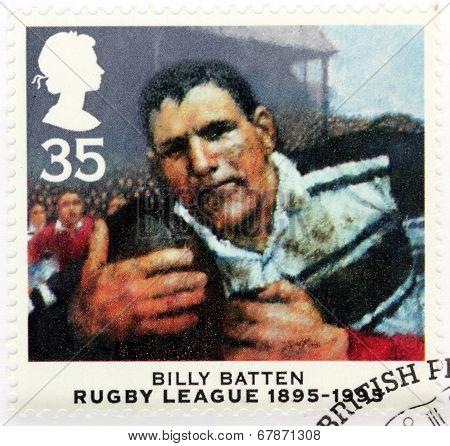 Billy Batten Stamp