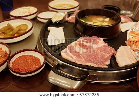 At The Korean Table