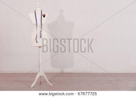 Mannequin in room