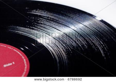 Lang spelen Vinyl muziek record