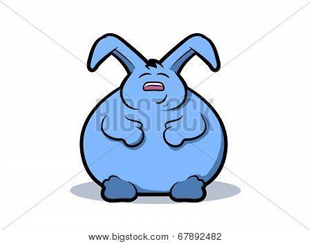 Fat Rabbit Cartoon