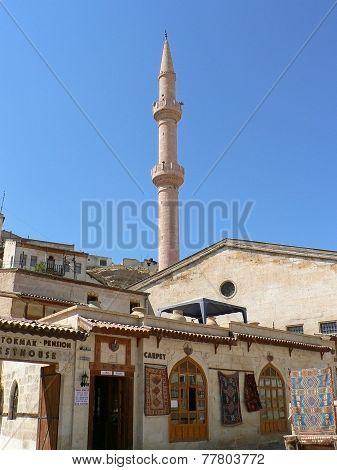 Minaret Over Mosque