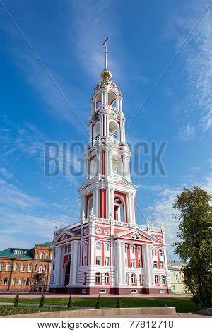 Russia. Tambov City. Bell Tower Of Kazan Monastery