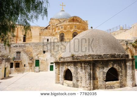 On The Roof Of The Church Of The Holy Sepulchre