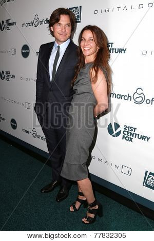 LOS ANGELES - DEC 5:  Jason Bateman, Amanda Anka at the March Of Dimes' Celebration Of Babies at the Beverly Wilshire Hotel on December 5, 2014 in Beverly Hills, CA