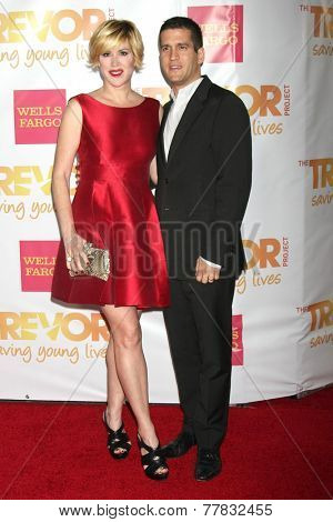 LOS ANGELES - DEC 7:  Molly Ringwald, Panio Gianopoulos at the