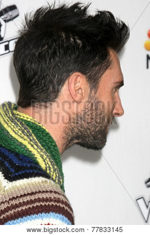 LOS ANGELES - DEC 8:  Adam Levine at the NBC's