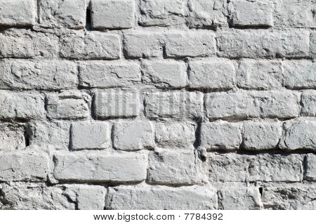 The Painted Brick Wall