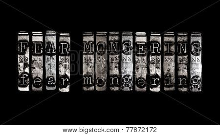 Fear Mongering Concept