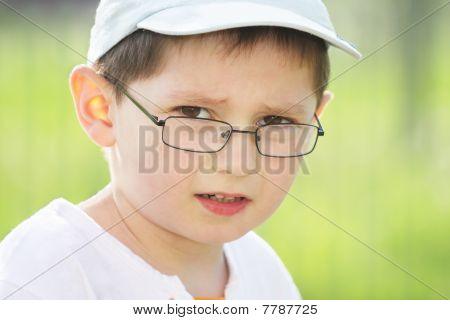 Boy In Eyeglasses