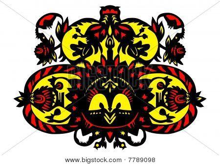 Decorative Floral Pattern [converted].eps