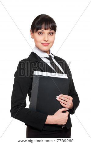 Beautiful Smiley Secretary
