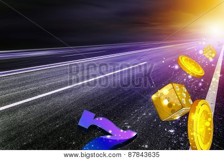 Fortune or money road