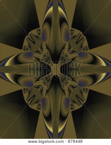 Embossed Cross