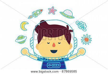 Space Kid in imagine