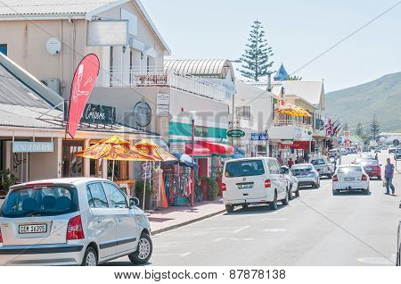 Street Scene In Hermanus