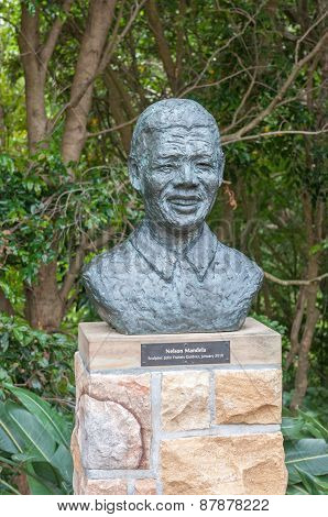 Sculpture Of Nelson Mandela
