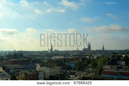 Lübeck, Skyline