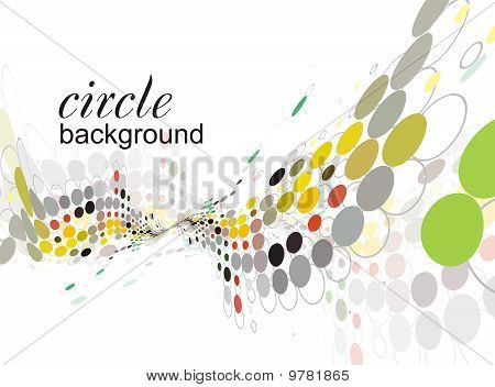 abstract halftone doted of background, vector theme poster