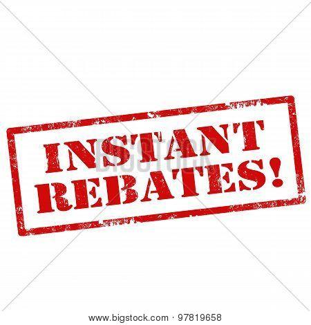 Instant Rebates