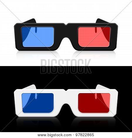 Vector 3D Glasses