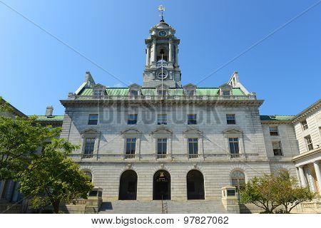 Portland City Hall, Maine, USA