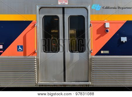 Amtrak Passenger Doors