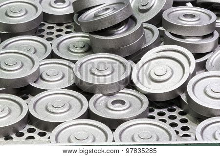 Hot Forging Part In Production Line