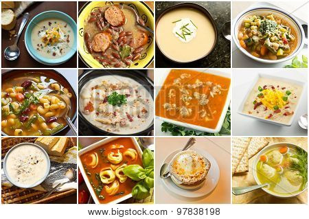 Soup Collage