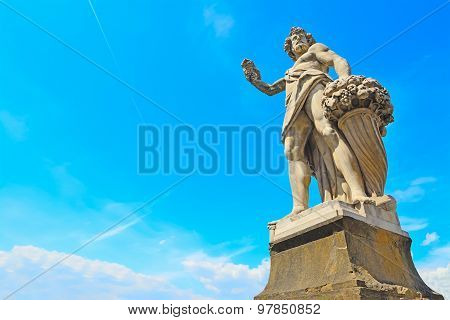 Autunno Statue In Florence