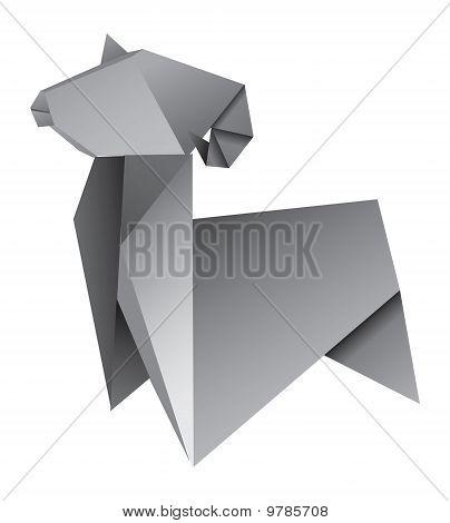 Origami Aries
