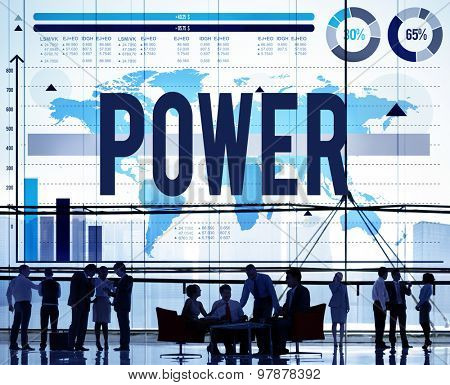 Power Performance Ability Competency Improve Concept