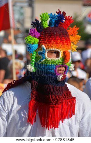 Ecuadorian Folk Mask
