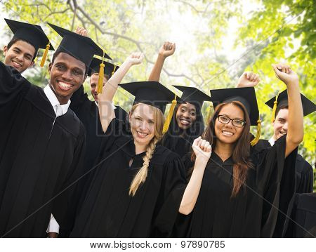Graduation Student Commencement University Degree Concept