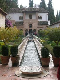 Fountain In The Alhambra