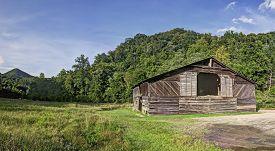 Caldwell Barn, Cataloochee Valley, Great Smoky Mountains National Park