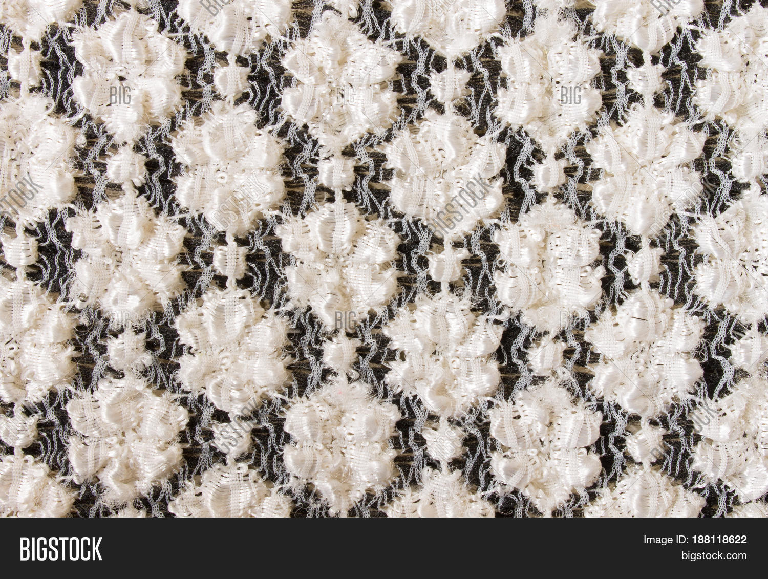White Flower Knitting Image & Photo (Free Trial) | Bigstock