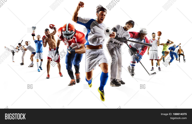 huge multi sports image photo free trial bigstock