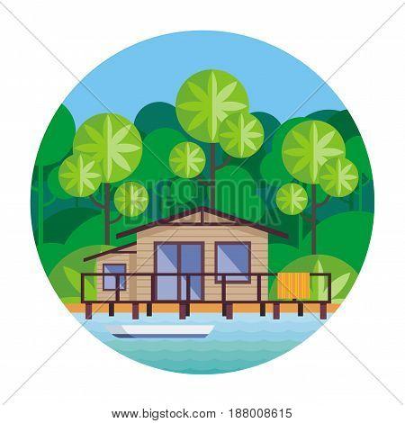 Cottage On Stilts.eps