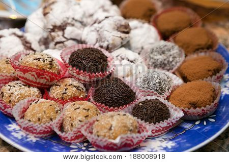 Decadent And Tasty Assorted Cookies and Truffles