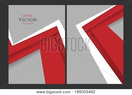 vector brochures templates set. Backgrounds with texture. Elements for design. Eps10