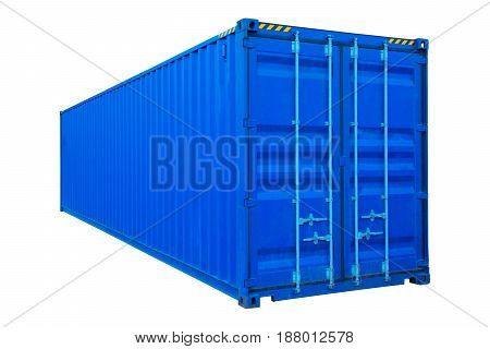 container on white background isolate for shipping goods.