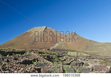 Monte Corona In Lanzarote, Spain