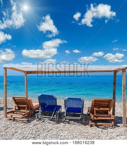 Summer Sunshiny Pebble Beach.