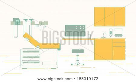 A convenient doctor's office for patients illustration