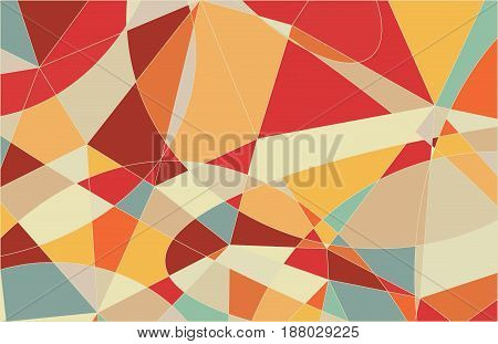 Pastel Colors Colors Mosaic Pattern Background for your design