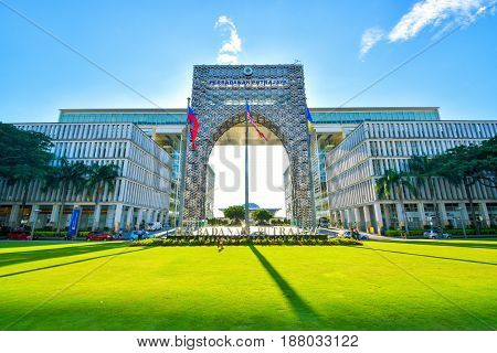 Perbadanan Putrajaya or Putrajaya Corporation is a local authority which administrates the Federal Territory of Putrajaya. This agency is under Federal Territories Ministry of Malaysia.