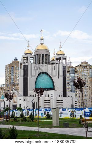 Patriarchal Cathedral of Jesus Christ Resurrection in Kiev Ukraine