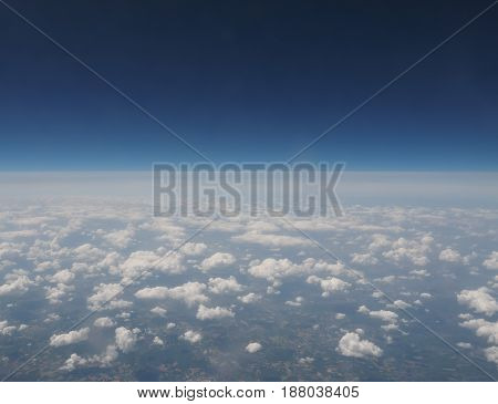 Clouds Seen From Plain